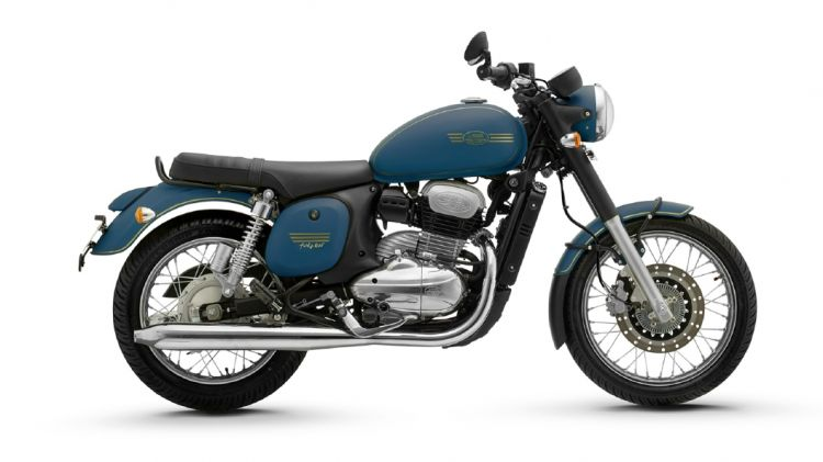 Jawa 42 (Forty Two) Nebula Blue Colour