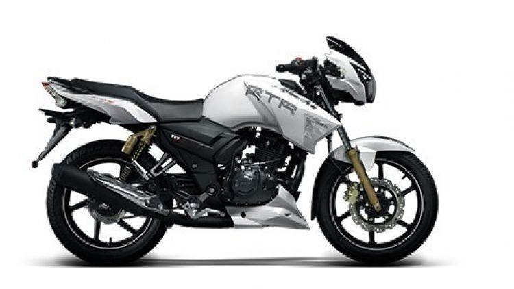 New TVS Apache RTR 180 ABS
