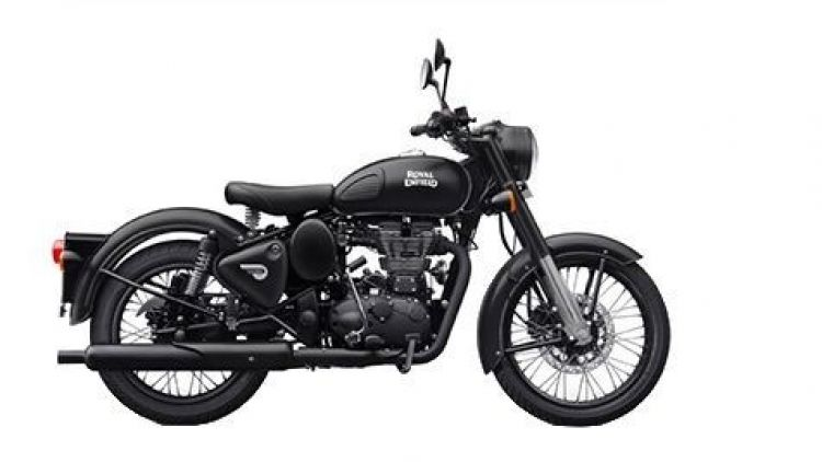New Royal Enfield Classic Stealth Black