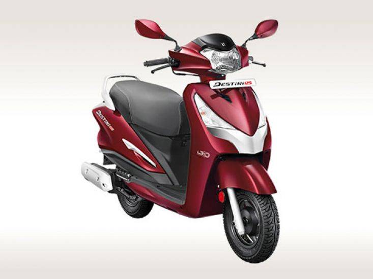 Hero Destini 125 BS6 Price, Mileage, Review, Specs, Features, Models -  DriveSpark
