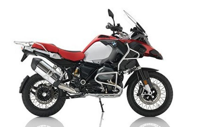 New BMW R1200 GS Adventure
