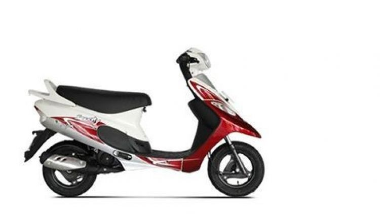 New TVS Scooty Pep Plus