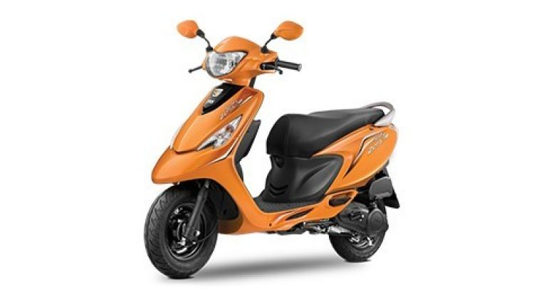 New TVS Scooty Zest 110