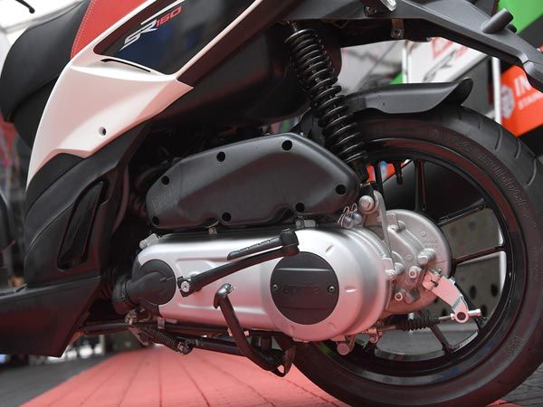 Aprilia SR150 Engine And Performance