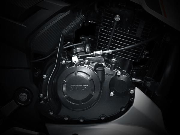 TVS Apache RTR 160 Engine And Performance