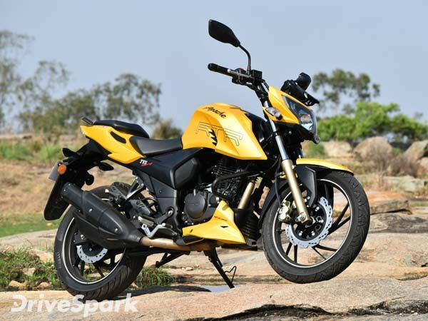 TVS Apache RTR 200 4V Design And Style