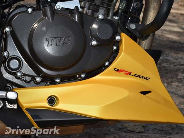 TVS Apache RTR 200 4V Engine And Performance