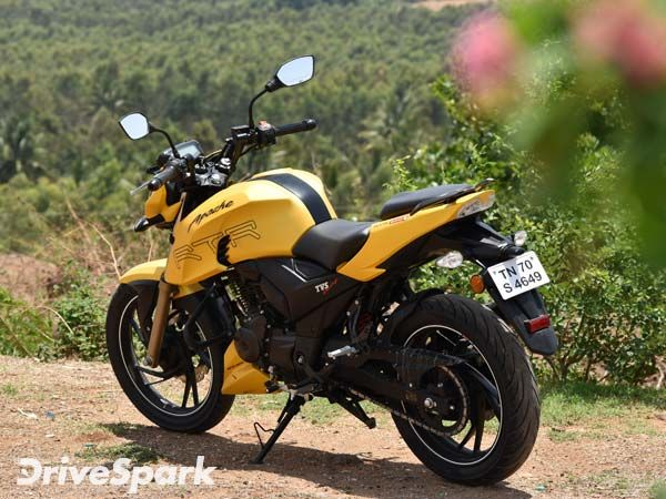 TVS Apache RTR 200 4V Important Features