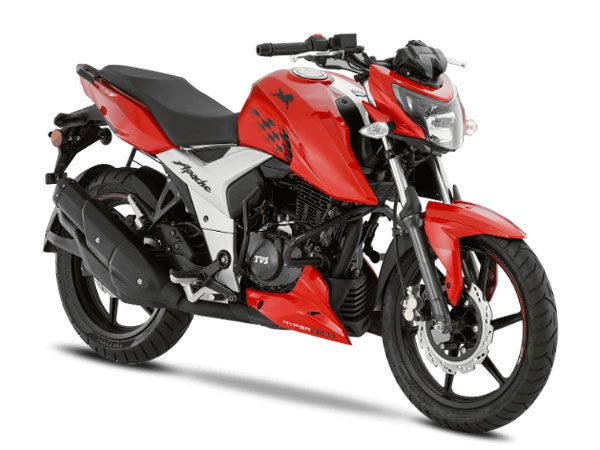 TVS Apache RTR 160 4V Design And Style
