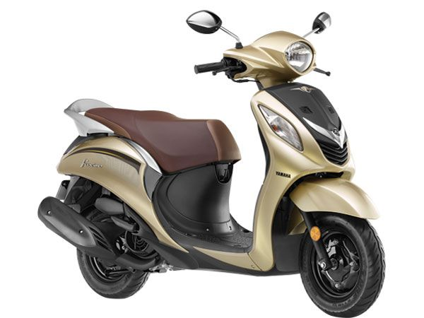 Yamaha Fascino Design And Style