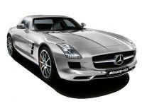 Mercedes Benz SLS AMG Coupe 0