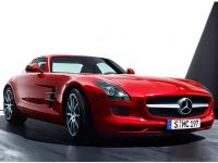 Mercedes Benz SLS AMG Coupe 1