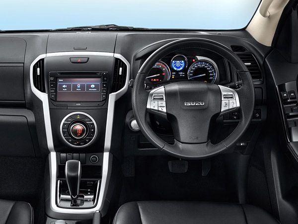 Isuzu MU-X Important Features