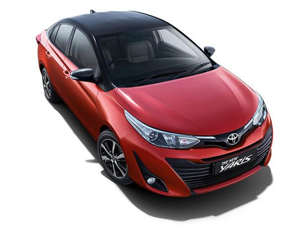 Toyota Yaris Exterior And Interior Design
