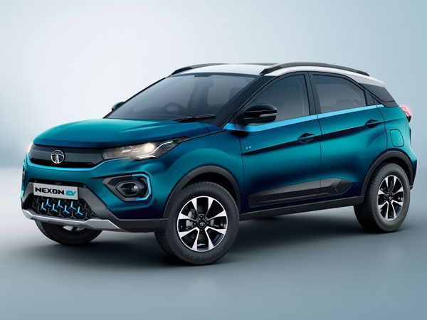 Tata Nexon EV Exterior And Interior Design