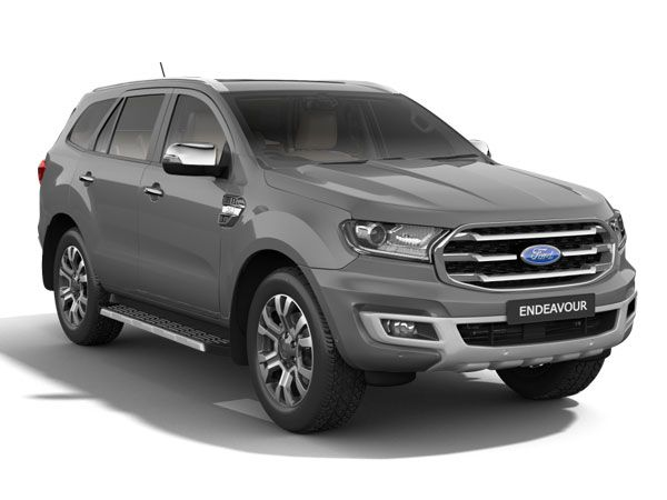 Ford Endeavour Exterior And Interior Design