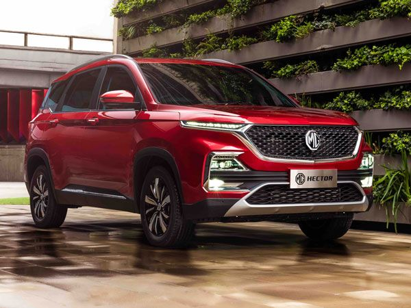 MG Hector Exterior And Interior Design