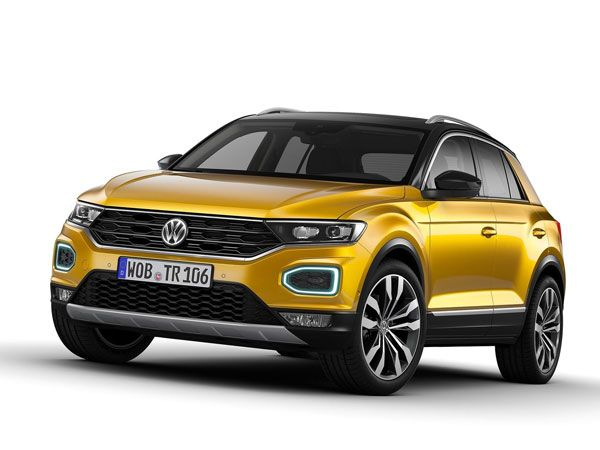 Volkswagen T-Roc Exterior And Interior Design