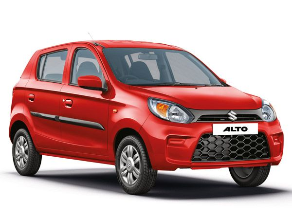 Maruti Suzuki Alto Exterior And Interior Design