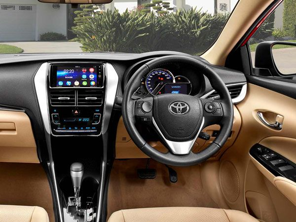 Toyota Yaris Important Features
