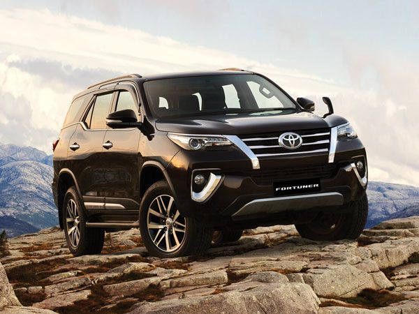 Toyota Fortuner Exterior And Interior Design