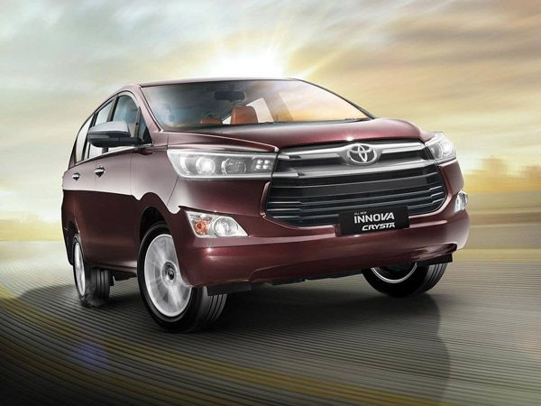 Toyota Innova Crysta Exterior And Interior Design