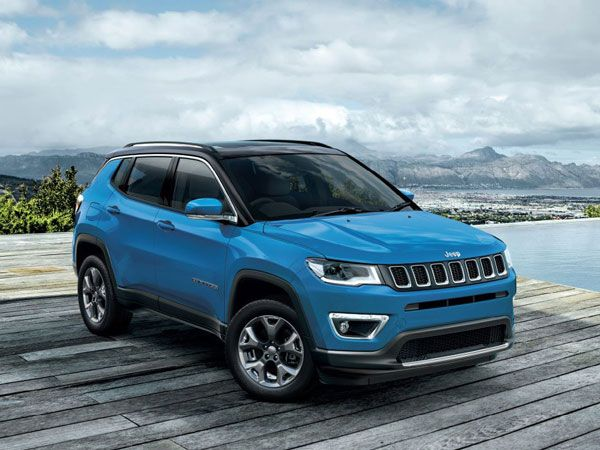 Jeep Compass Exterior And Interior Design