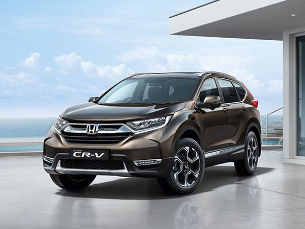 Honda CR-V Exterior And Interior Design