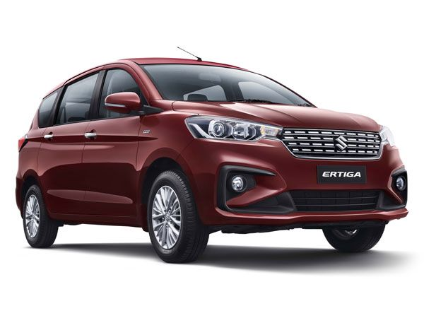 Maruti Suzuki Ertiga Exterior And Interior Design