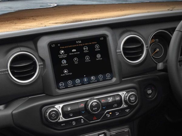 Jeep Wrangler Important Features