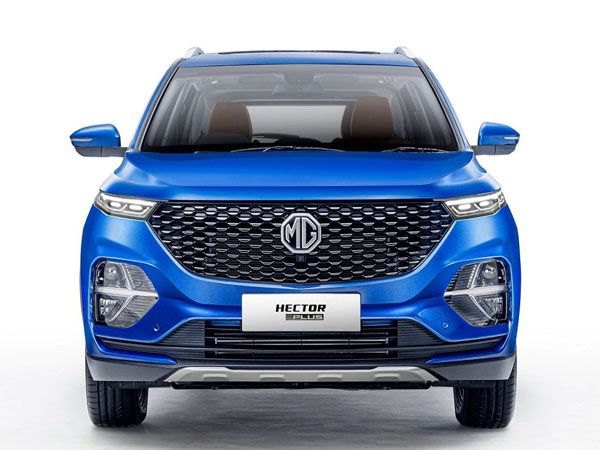 MG Hector Plus Exterior And Interior Design