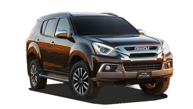 New Isuzu MU-X