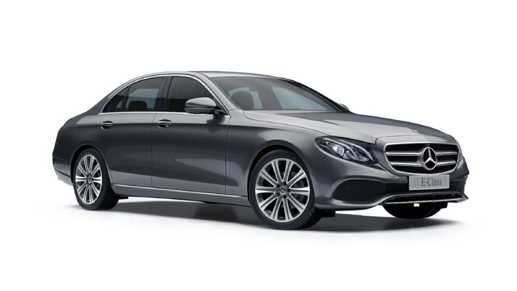 Mercedes Benz  E-Class Selenite Grey Metallic Colour