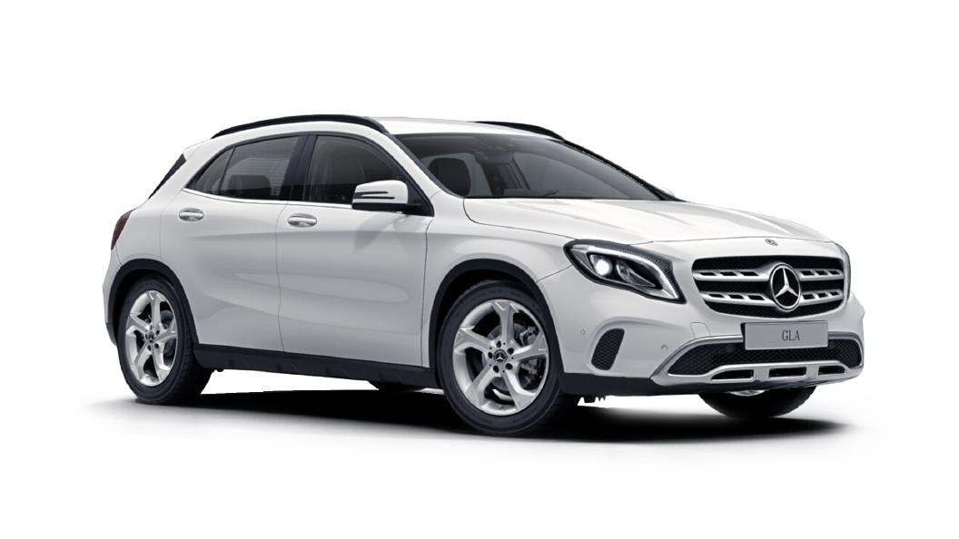 Mercedes Benz  GLA Cirrus White Colour