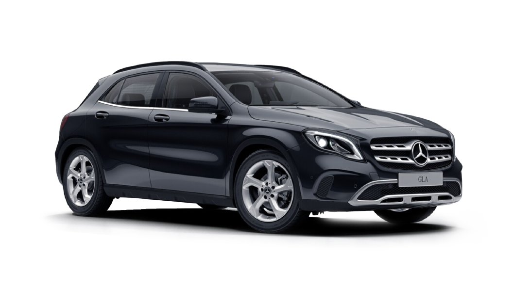 Mercedes Benz  GLA Cosmos Black Colour