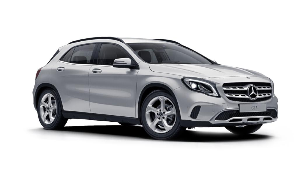 Mercedes Benz  GLA Polar Silver Metallic Colour