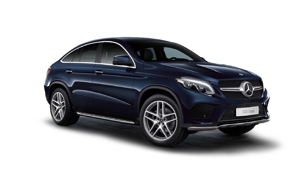 Mercedes Benz  GLE Coupe Cavansite Blue Colour