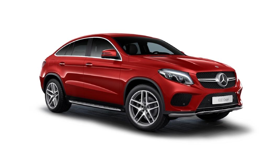 Mercedes Benz  GLE Coupe Designo Hyacinth Red Metallic Colour
