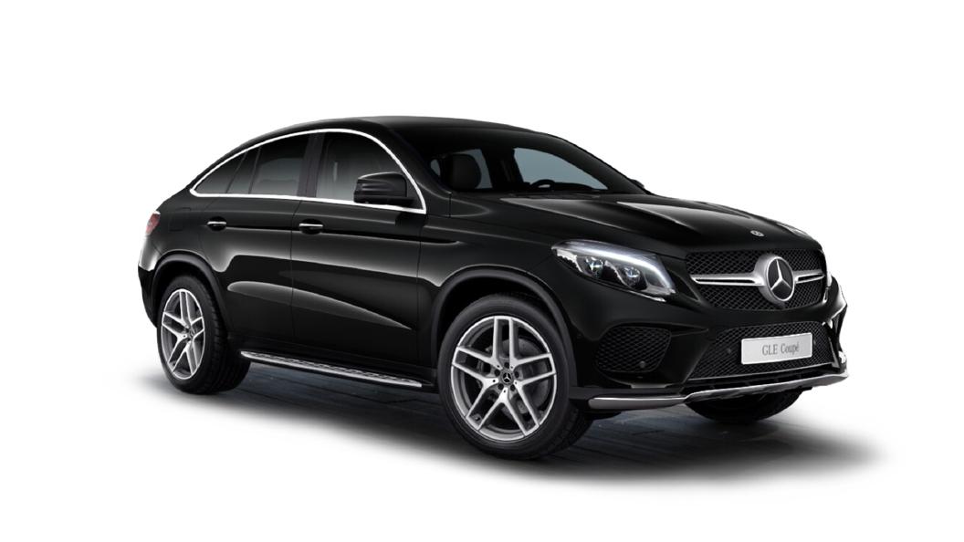 Mercedes Benz  GLE Coupe Obsidian Black Colour