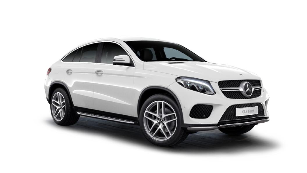 Mercedes Benz  GLE Coupe Polar White Colour