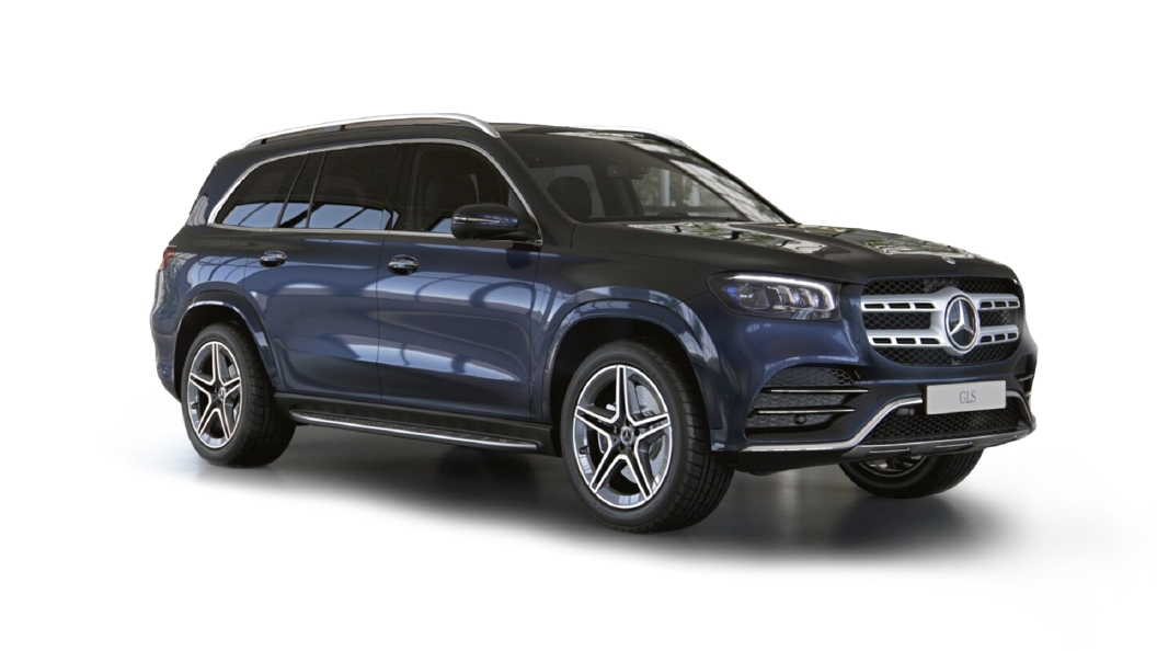 Mercedes Benz  GLS Cavansite Blue Colour