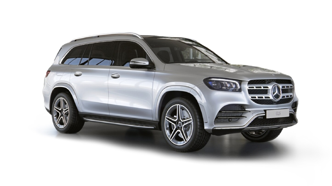 Mercedes Benz  GLS Iridium Silver Colour