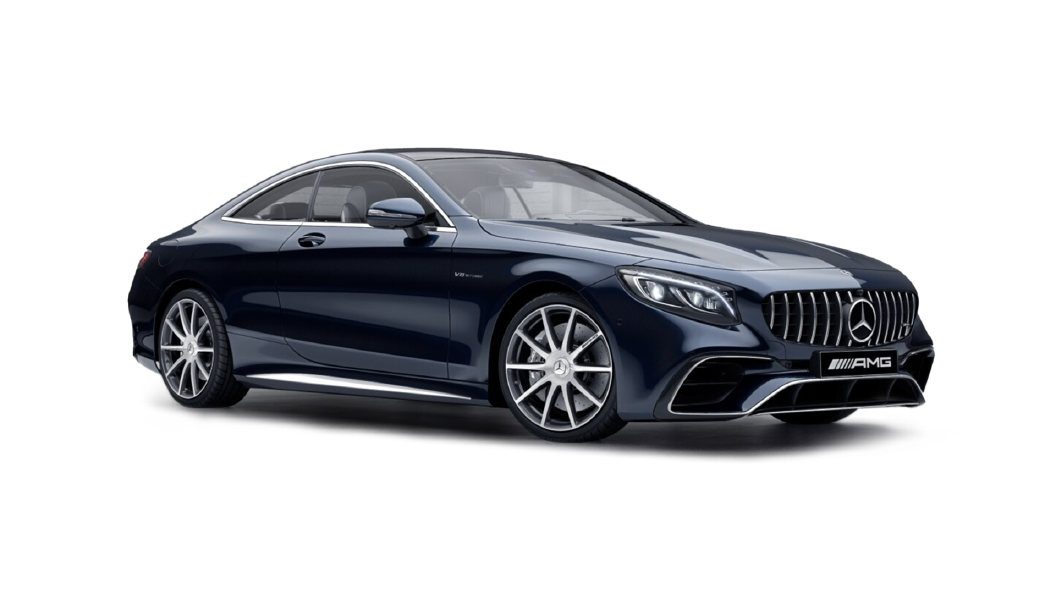Mercedes Benz  S-Coupe Cavansite Blue  Colour