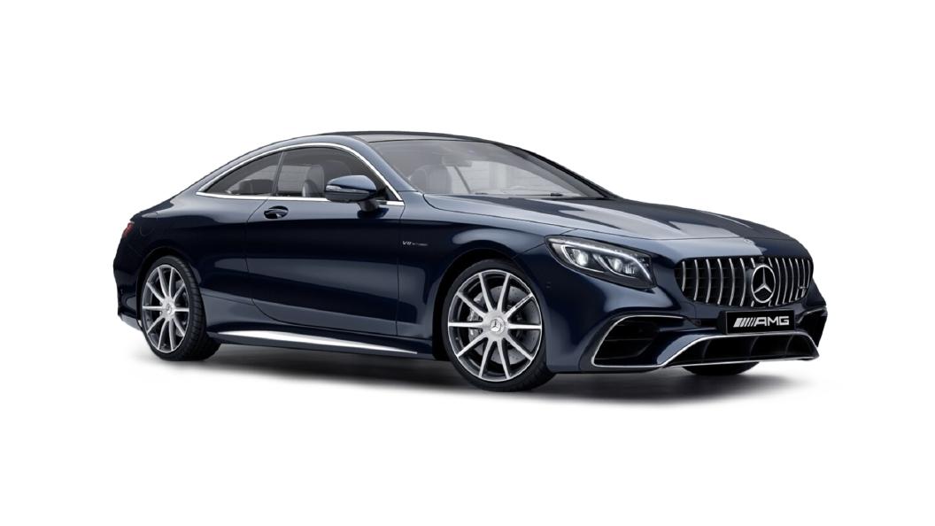Mercedes Benz  S-Coupe Cavansite Blue  Colour
