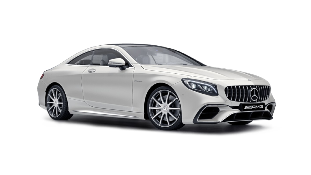 Mercedes Benz  S-Coupe Designo Cashmere White Magno Colour