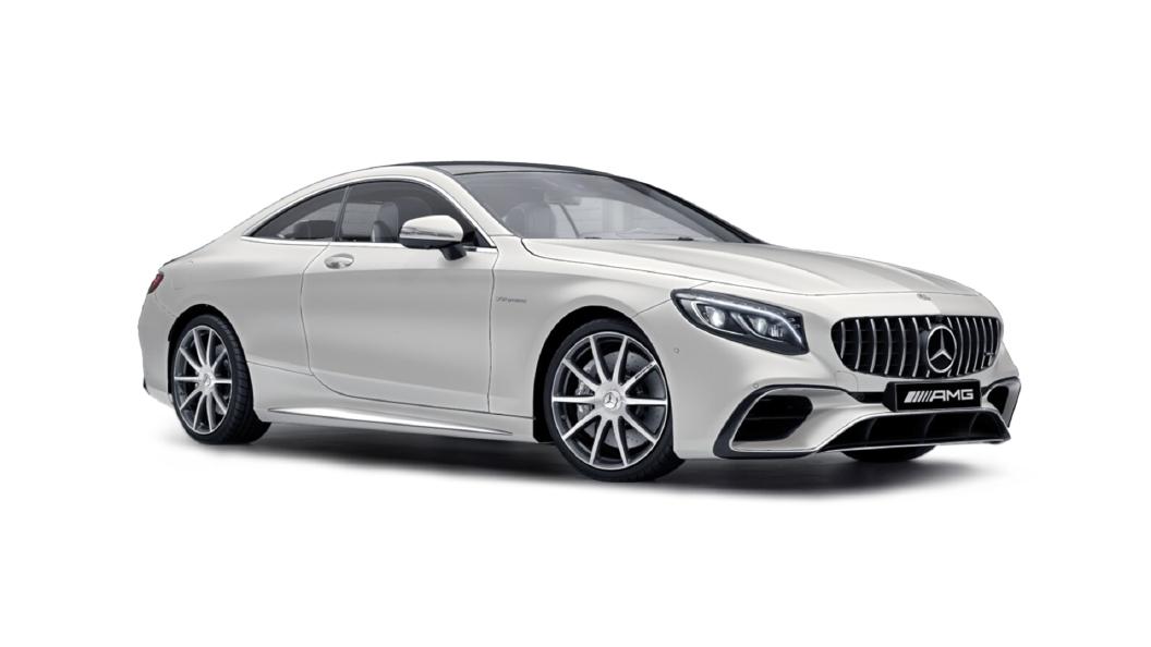 Mercedes Benz  S-Coupe Designo Cashmere White Magno Colour