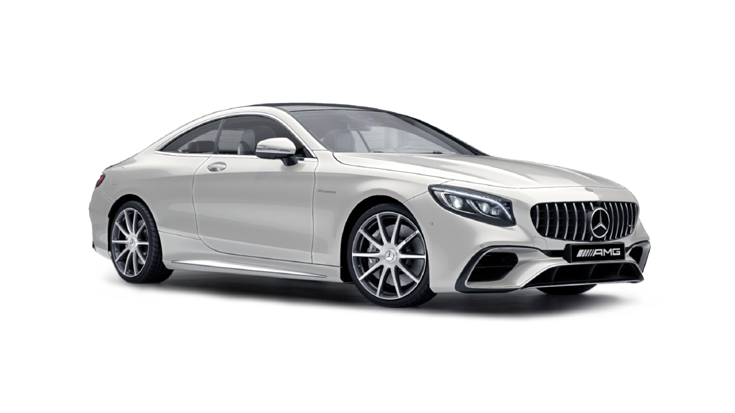 Mercedes Benz  S-Coupe Designo Diamond White Bright   Colour
