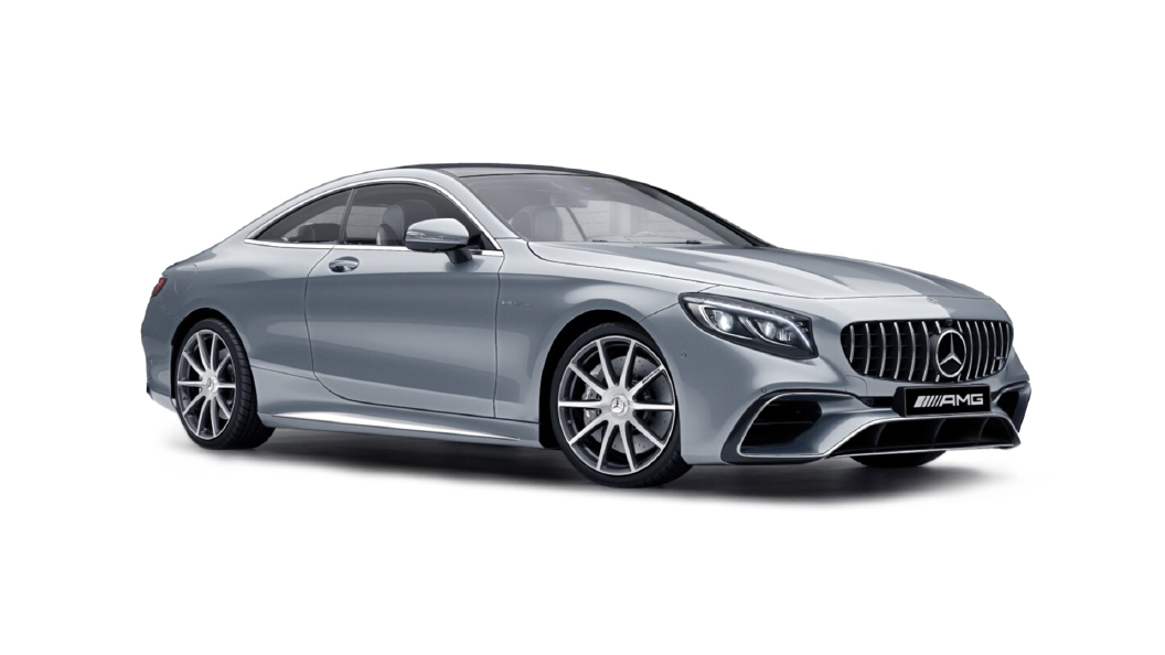 Mercedes Benz  S-Coupe Diamond Silver Colour