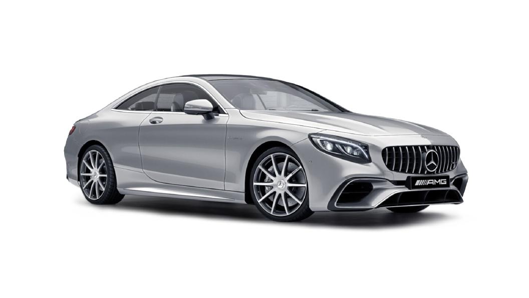 Mercedes Benz  S-Coupe Iridium Silver Colour