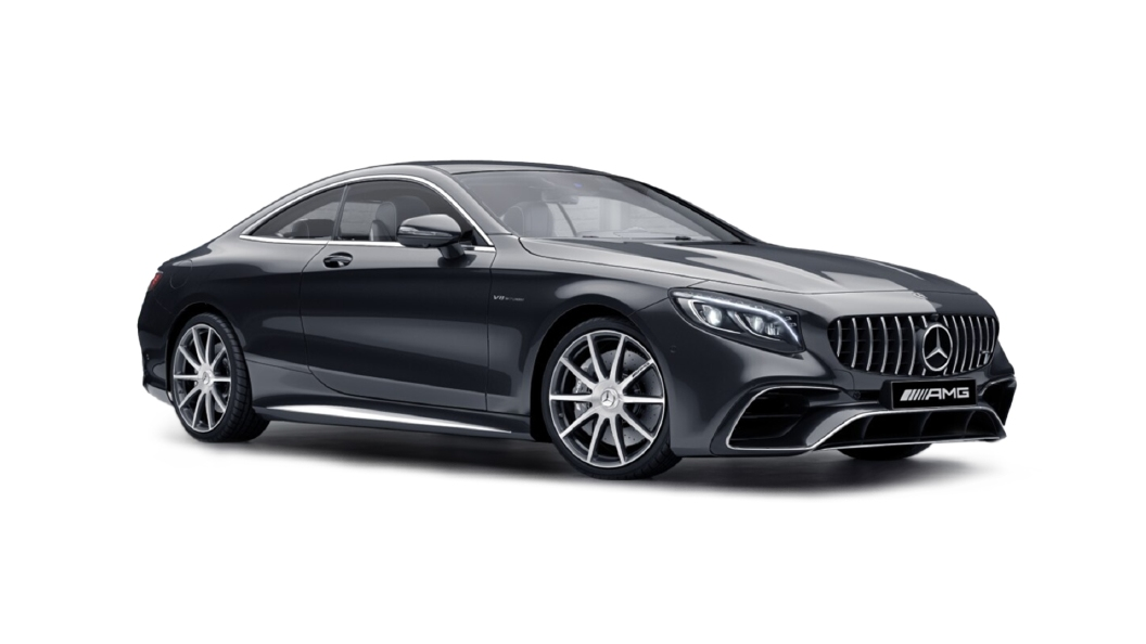 Mercedes Benz  S-Coupe Magnetite Black Colour